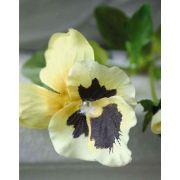 "Artificial pansy MELINDA, yellow, 12""/30cm"