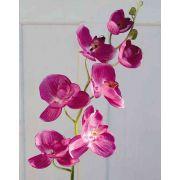 Artificial Phalaenopsis orchid spray DAJANA, pink, 4ft/115cm