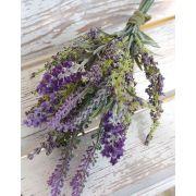 Bouquet of silk lavender KIRSA, violet, 30cm