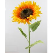 False sunflower BENITA, yellow-orange, 105cm, Ø27cm