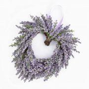 """Lavender heart, violet, Ø 8""""/20cm"""