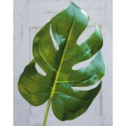 "Plastic Philodendron Monstera Deliciosa leaf KERIM, 22""/55cm"