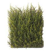 """Artificial Cypress hedge element NEOH, crossdoor, 10""""x10""""/25x25cm"""