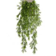 "Artificial Asparagus sprengeri hanging plant COLE, spike, 30""/75cm"