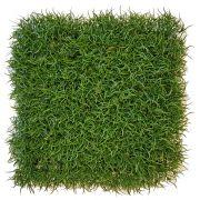 """Artificial grass hedge / mat FILLY, crossdoor, green, 10""""x10""""/25x25cm"""