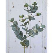 """Artificial eucalyptus INGOLF, green-grey, 22""""/55cm"""