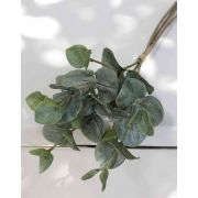 "Artificial eucalyptus bunch INGOLF, green-grey, 12""/30cm"