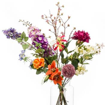 Hand tied flower bouquets